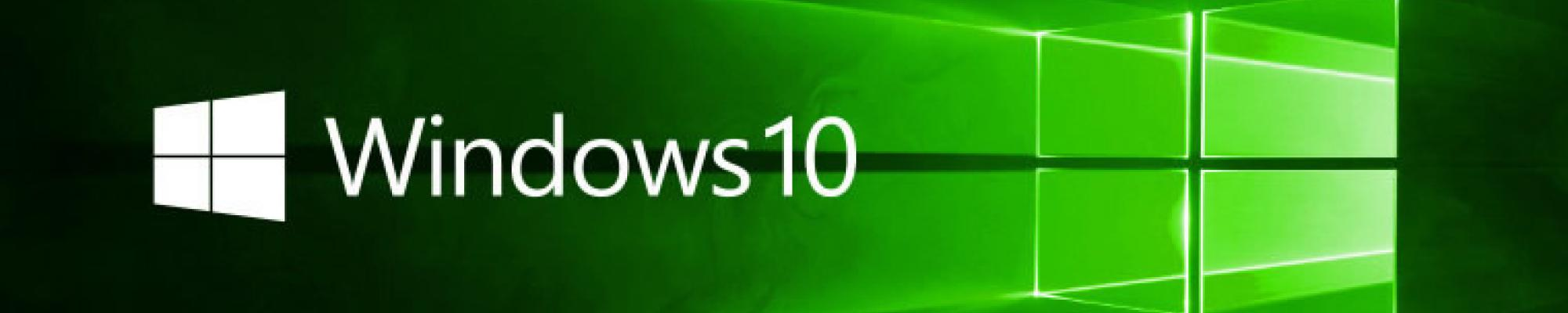 Windows 10: technology update