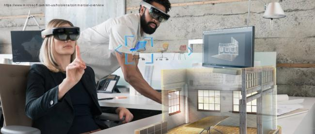 Mixed reality dans le domaine de l'architecture
