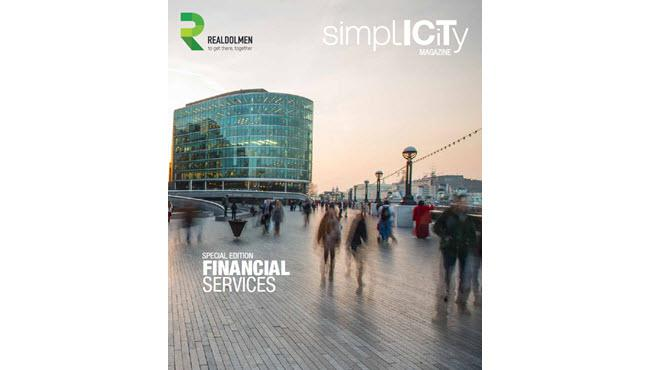 Simplicity Magazine Financial Services - cover