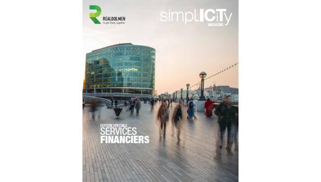 Simplicity Magazine Financial Services - couverture